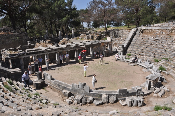 Priene, Theater