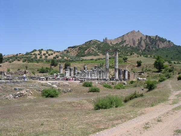Sardes, temple of Artemis and citadel (1)