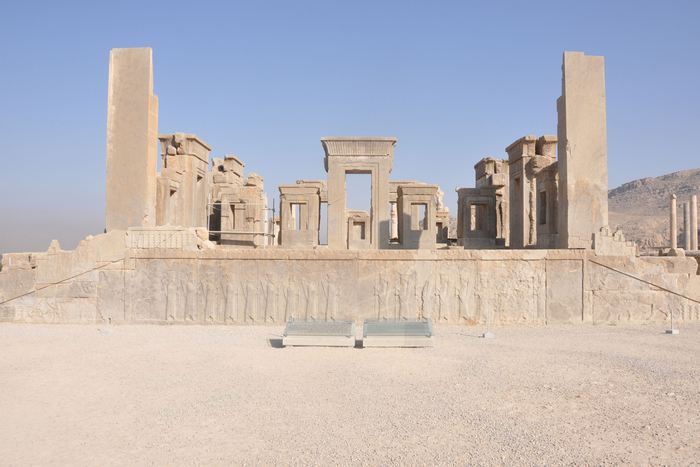 Persepolis, Palace of Darius, general view (1)