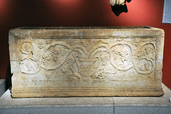 Side, late Roman sarcophagus