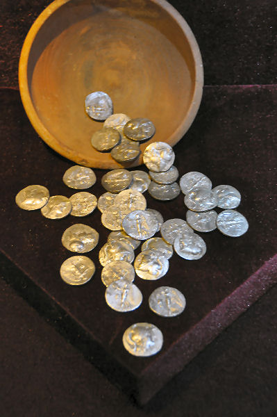 Side, Treasure of 129 tetradrachms from the late second century BCE