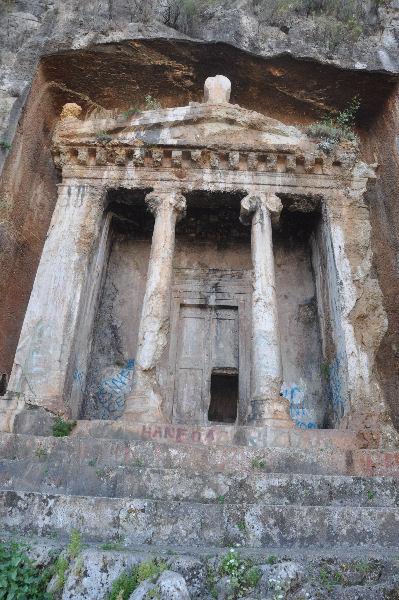 Fethiye, tomb of Amyntas (3) - Livius