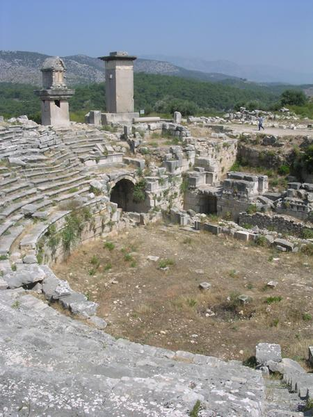 Xanthus, theater (2)