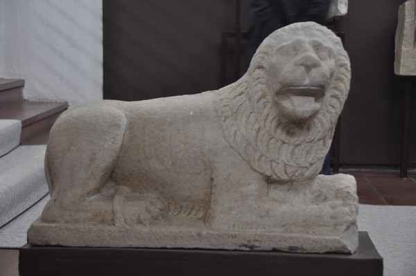 A lion from Alexandria in the Troad.