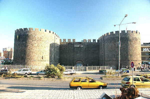 Harput Gate and towers