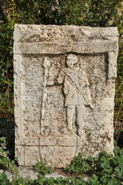 Apamea, Tombstone of an unknown soldier