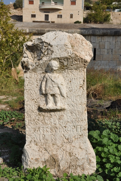 Apamea, Tombstone of an unknown soldier of II Parthica (2)
