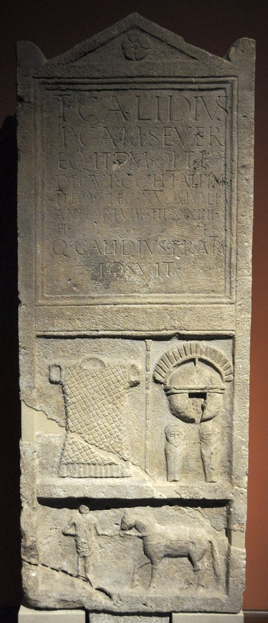 Carnuntum, Tomb of Titus Calidius of XV Apollinaris