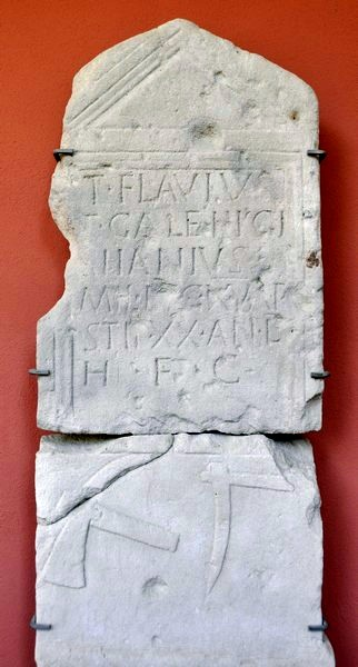 Tombstone of Aiianius of XV Apollinaris