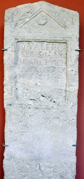 Carnuntum, Tombstone of Seius of XV Apollinaris
