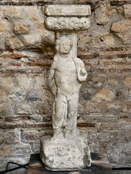 A statuette of Bacchus from Lutetia