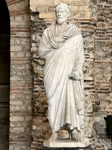Statue of a priest of Serapis, long time believed to be a portrait of Julian the Apostate