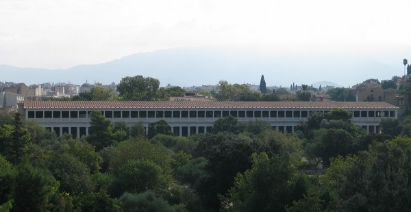 Athens, Agora, Stoa of Attalus II, General view
