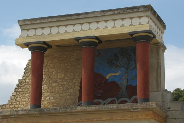 Columns from Knossos