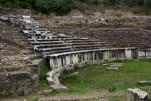 The theater of Magnesia on the Meander.