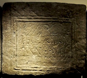 Inscription of XIII Gemina
