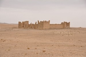 General view of Qasr Bshir