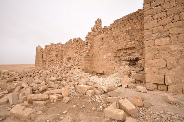 Qasr Bshir, outside (2)