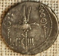 Coin of the Third Legion, later called Augusta