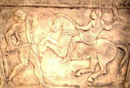 Etruscan and Celtic warrior