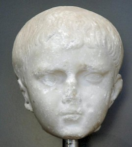 Portrait, believed to be Tiberius Gemellus