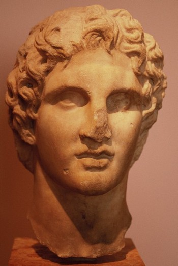 Alexander the Great, Athens