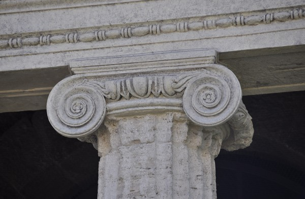 Rome, temple of Portunus, Ionic capital