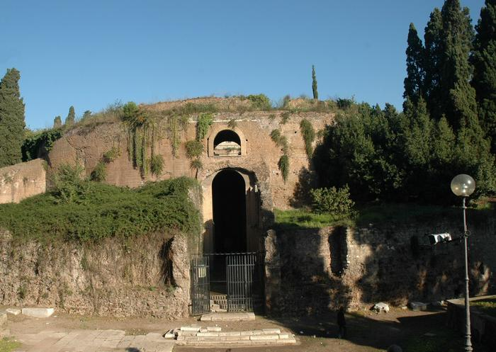 General view of the Mausoleum of Augustus