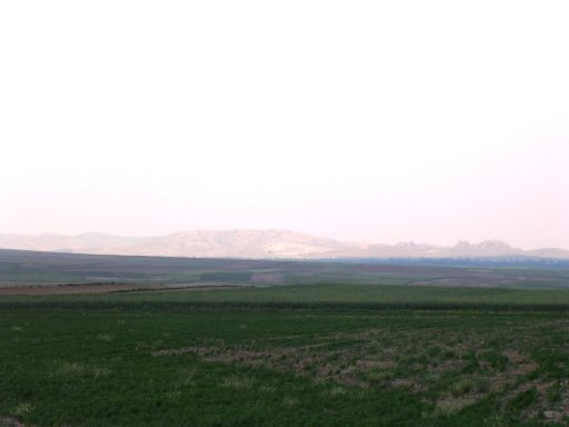 Mountains north of Sivrihisar