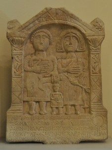 Tombstone of Trophiumus and his family
