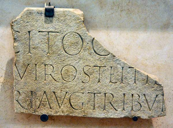 Rome, Tombstone of Tacitus