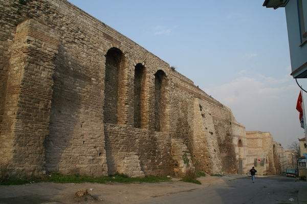 Constantinople, Theodosian Wall, N of Blacharnae