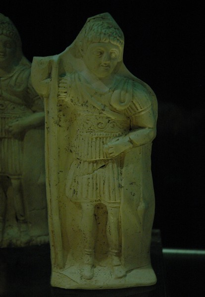 Mainz, temple of Isis, statuette of a soldier