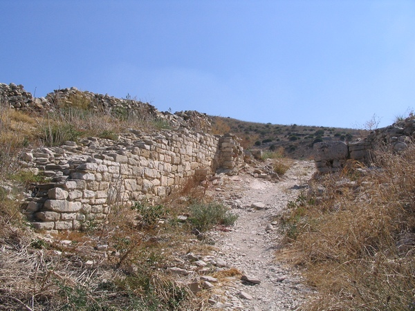 Road from the temple to the theater