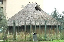 Reconstruction of an Iron Age hut