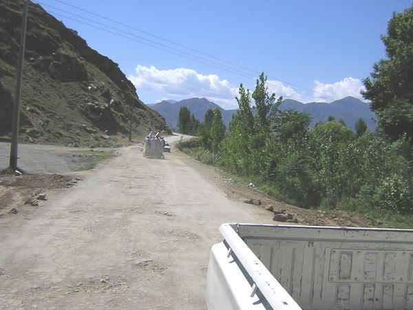 Crossing the Shangla Pass