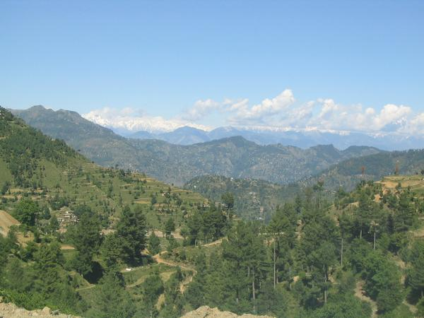 Shangla Pass and Himalayas
