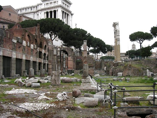 Rome, Forum of Caesar, General view