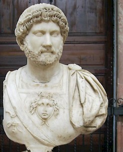 Hadrian, bust from Italica