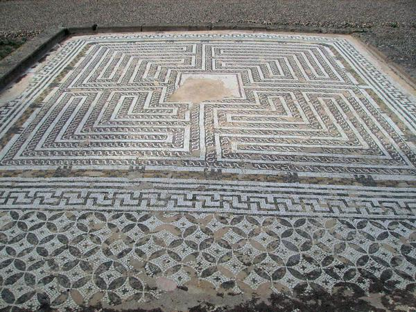 A labyrinth from Italica