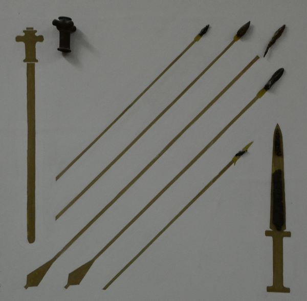 Afrosiab, Sogdian weapons