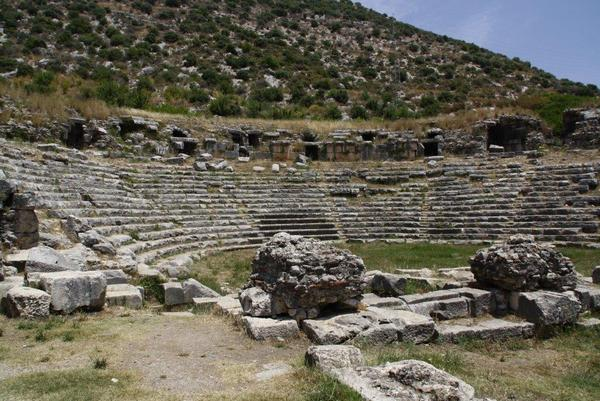 Limyra, theater