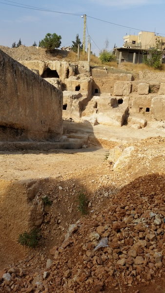 Baalbek, quarry, tombs