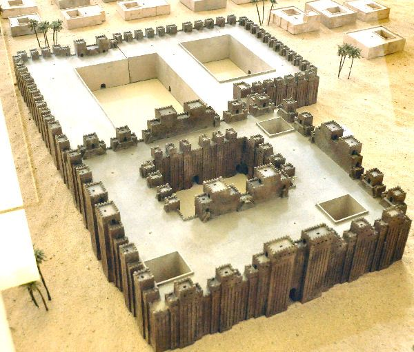 Model of Babylon's Esagila Temple