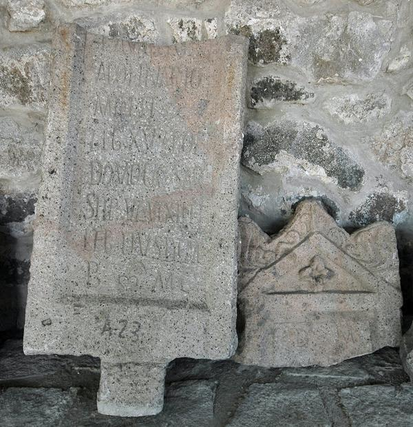 Tombstone of a soldier of XV Apollinaris, Trabzon