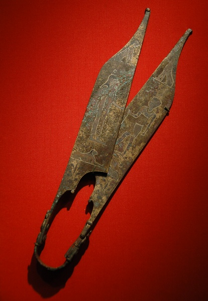 Egyptian-style shears from Trapezus.