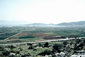 General view of the Hellenistic city of Halos