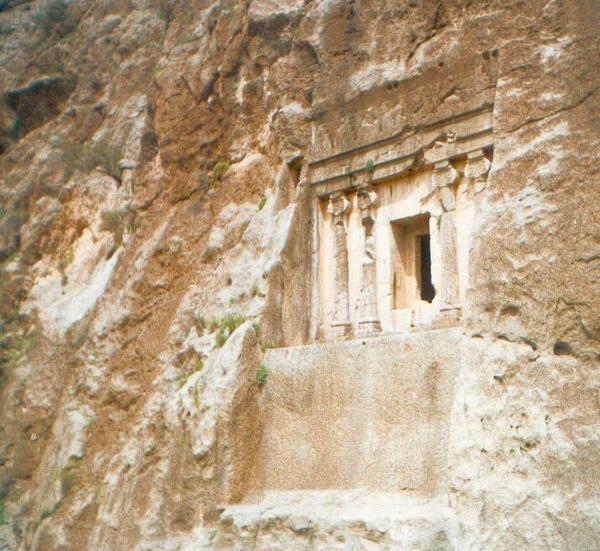Kupan rock tomb (2)