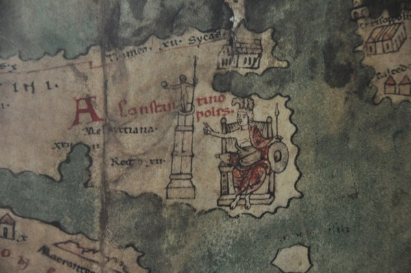 Constantinople on the Peutinger Map