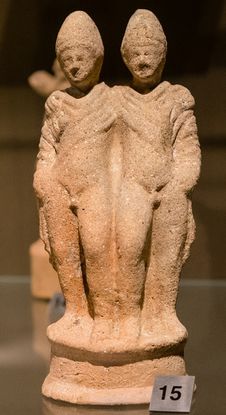 Beirut, statuette of the Dioscuri